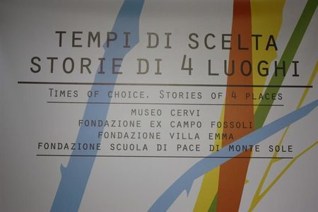 Tempi di scelta. Storie di 4 luoghi - Times of choice. Stories of 4 places