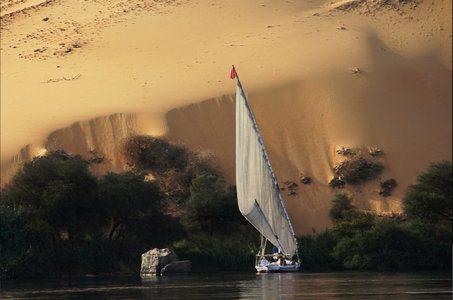 Egitto in feluca
